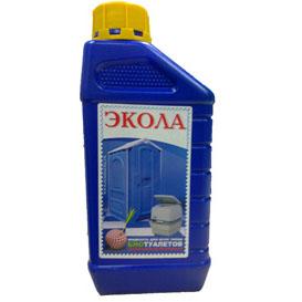 Экола жидкость для туалетных кабин