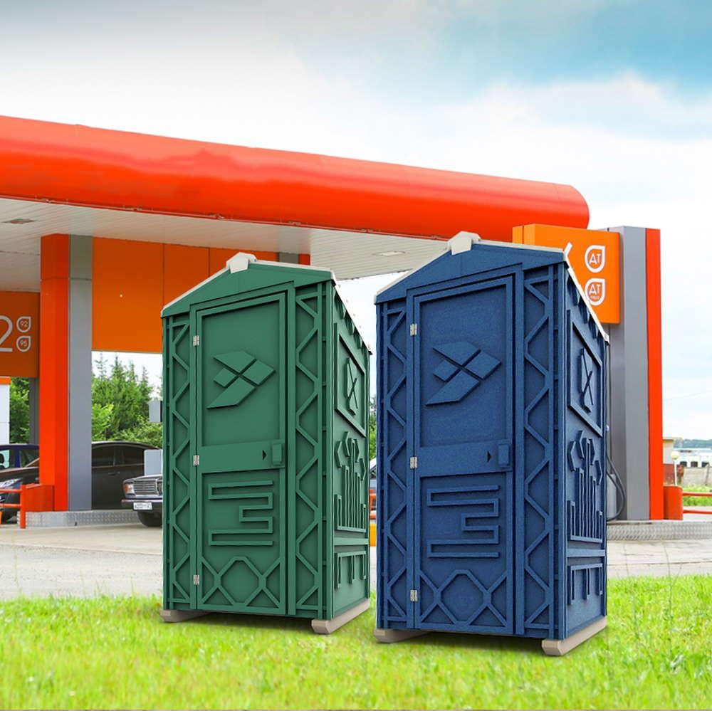 Туалетная кабина на азс