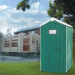 туалетная кабина на дачу