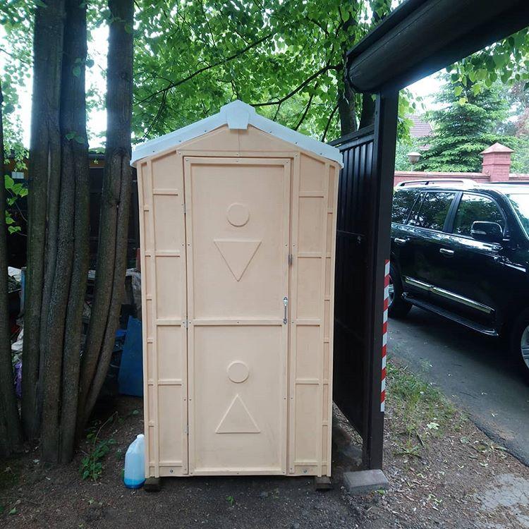 Уличный биотуалет Стандарт бежевый