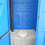 туалетная кабина стандарт внутри